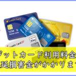 クレジットカード利用料金延滞にかかる遅延損害金